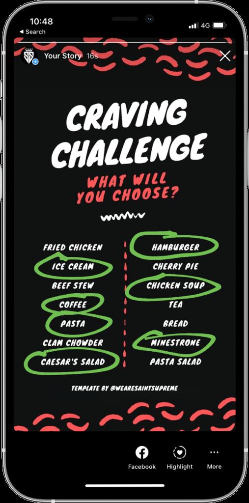 iphone with instagram challenge